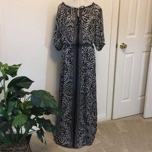 White House Black Market Maxi Dress  SZ 12